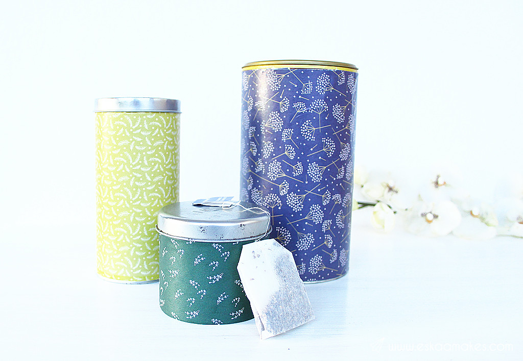 upcycled storage cans 1