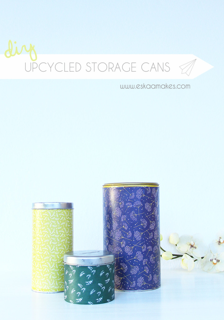 upcycled storage cans title