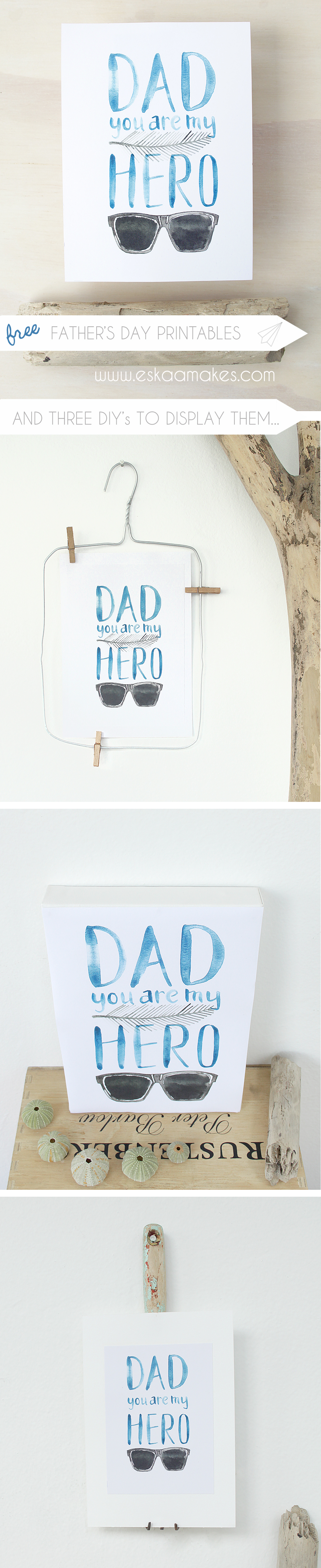 printable fathers day Pinterest