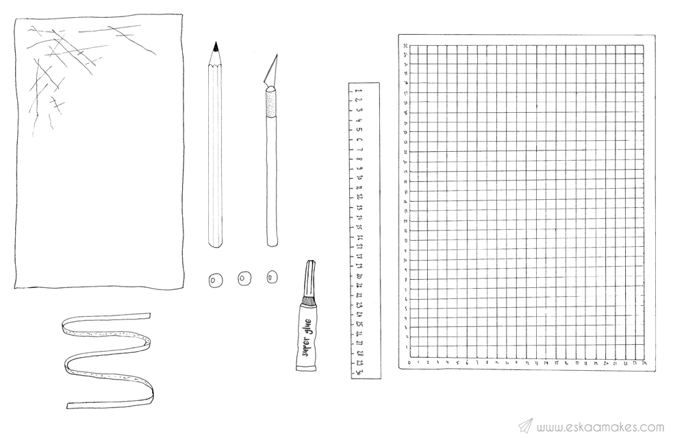 diy craft supply pouch material