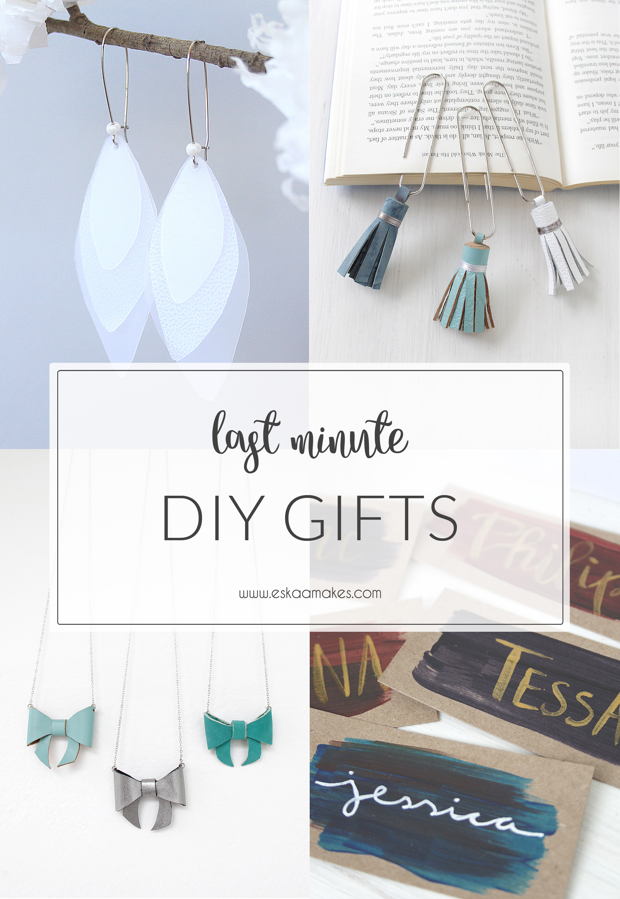 last minute DIY gift ideas – and gift tags