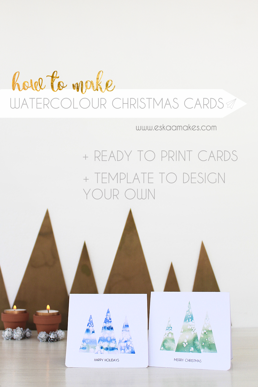 how to make christmas cards templates es kaa makes there are three options