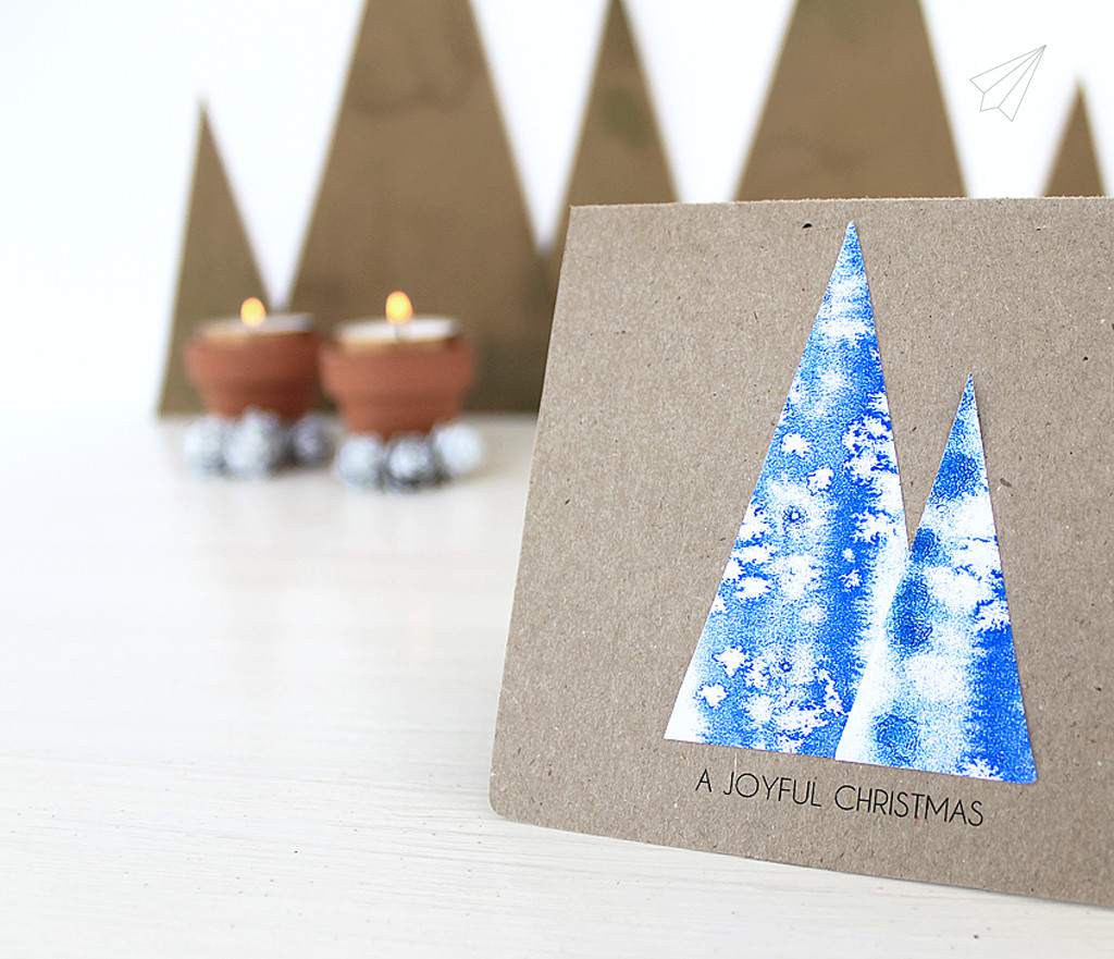 christmas card tree 5