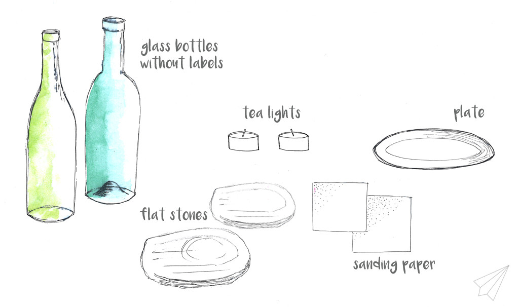 bottle lanterns material