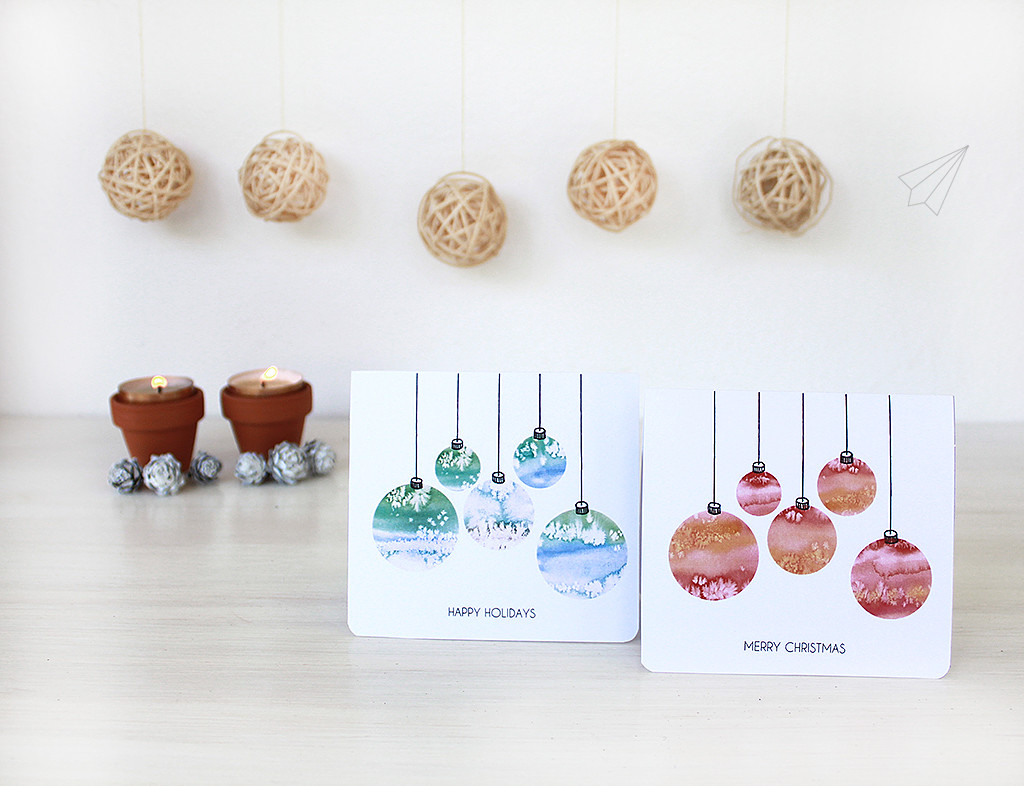 christmas card baubles 10