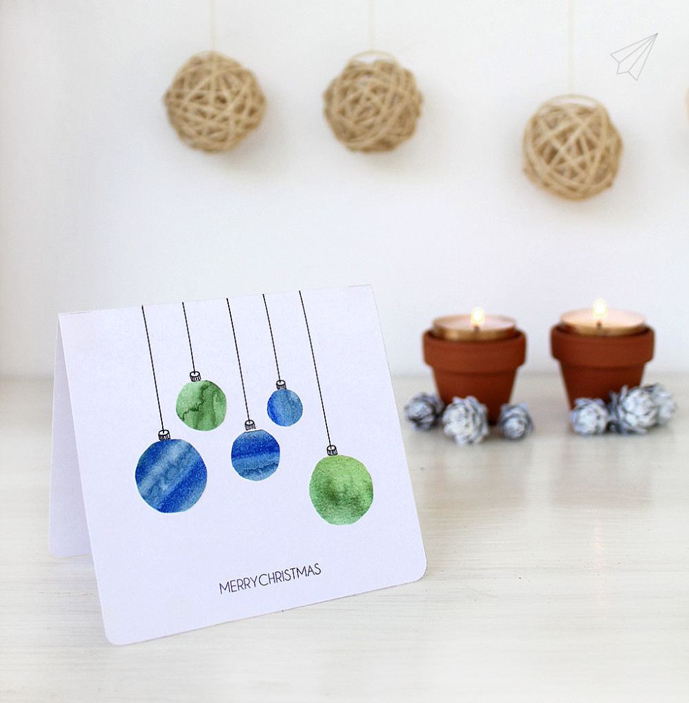 christmas card baubles 11