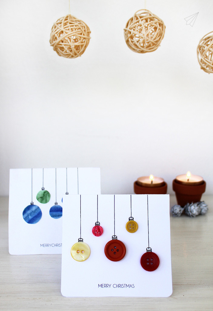 christmas card baubles 3