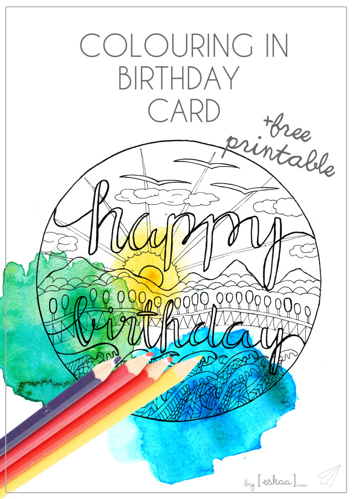 birthday card colour in title
