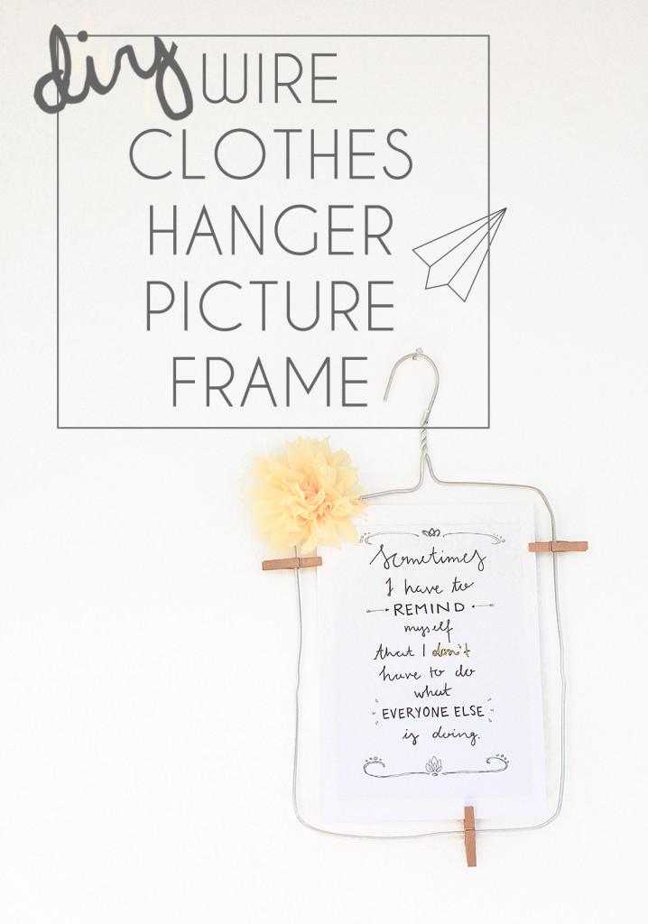 PICTURE HANGER TITLE