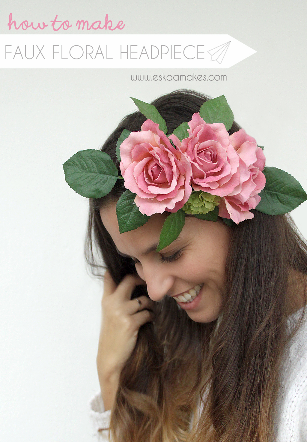 Accessory For Hair: How To Make: Faux Floral Headpiece » [es.kaa.] Makes