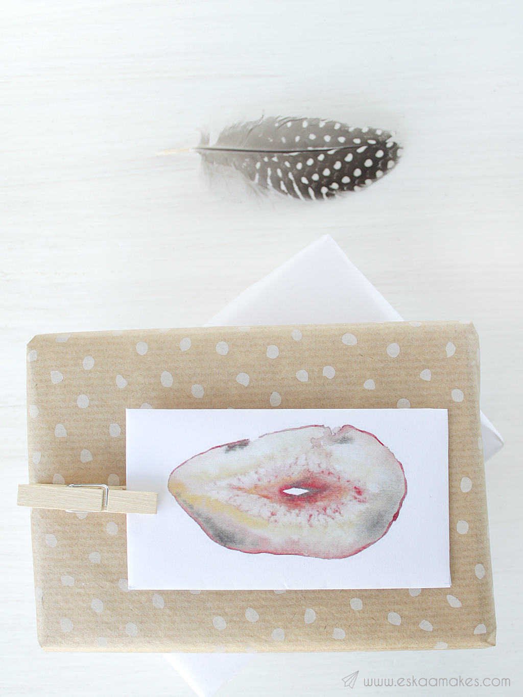 agate slice mini envelope printables