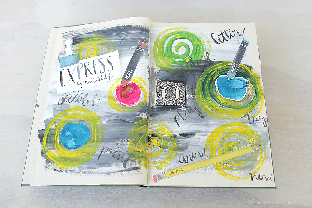 diy art journaling 4
