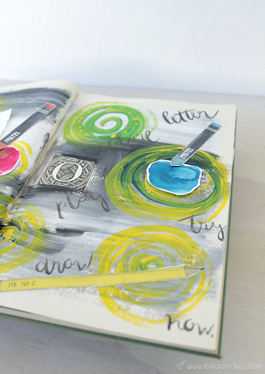 diy art journaling 5