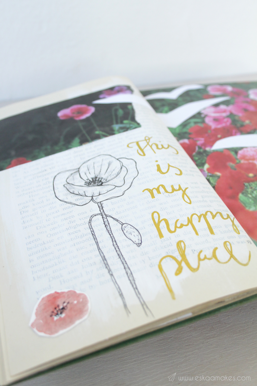 diy art journaling 9