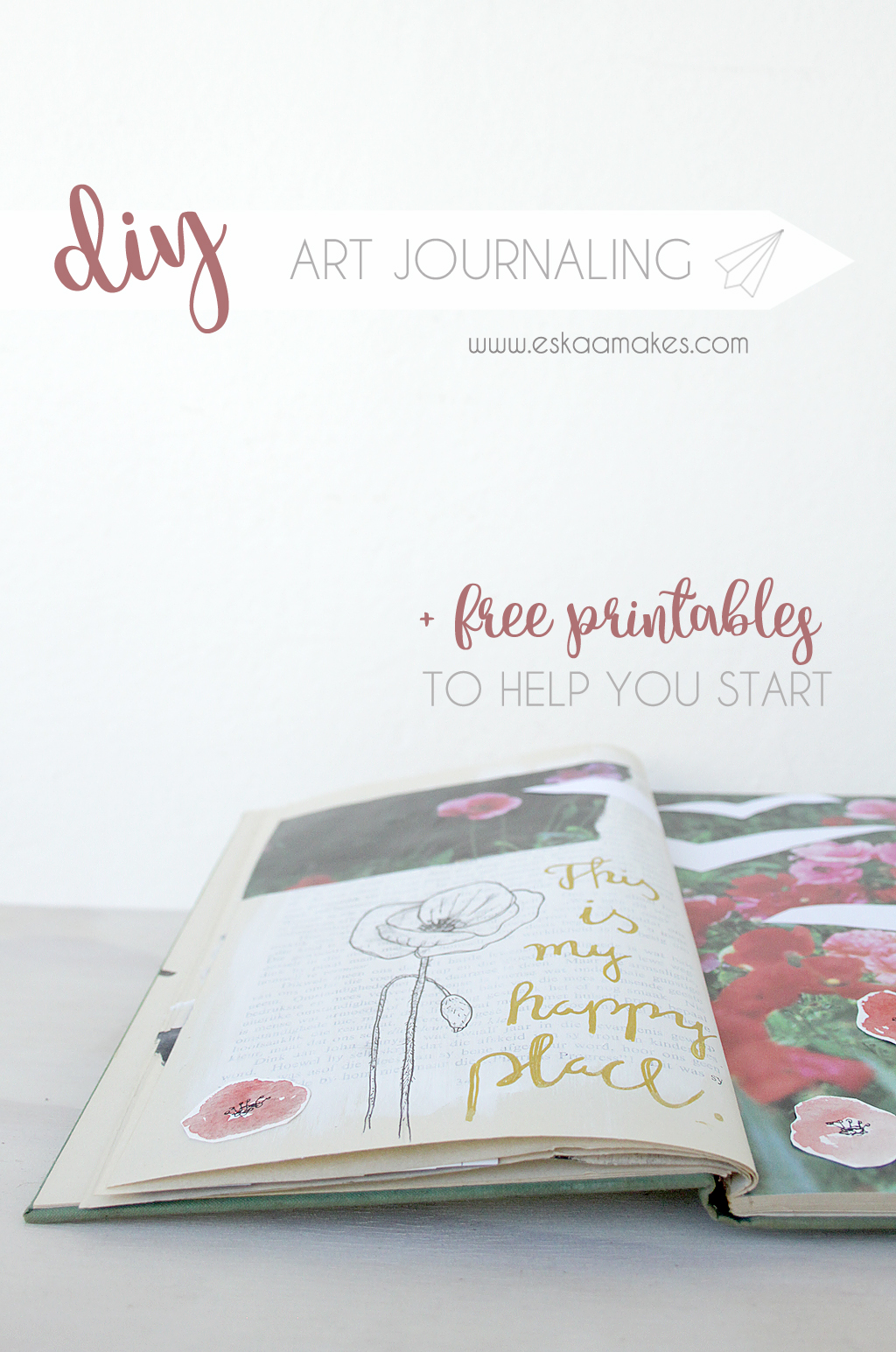 diy art journaling TITLE
