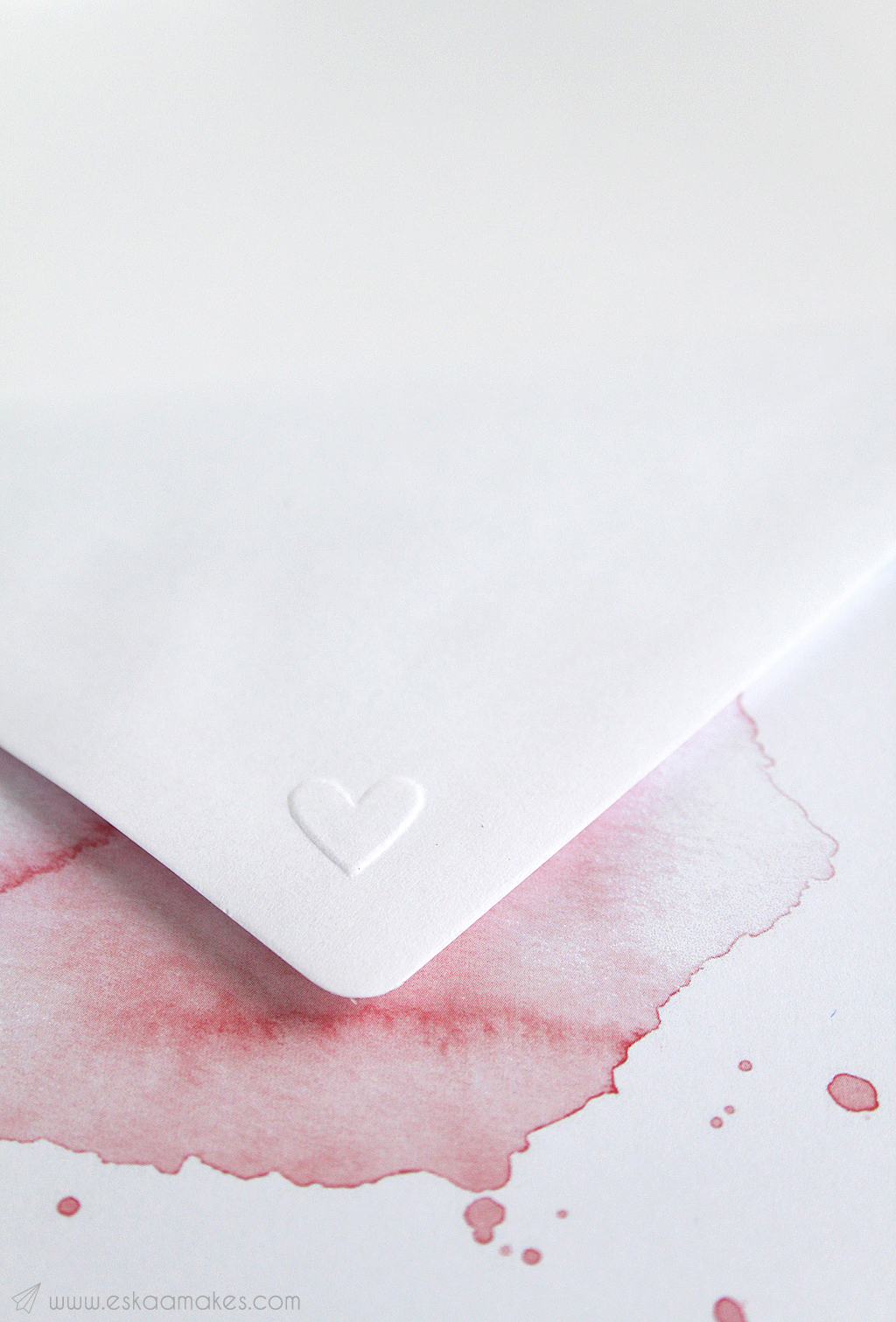 diy embossed envelope 6