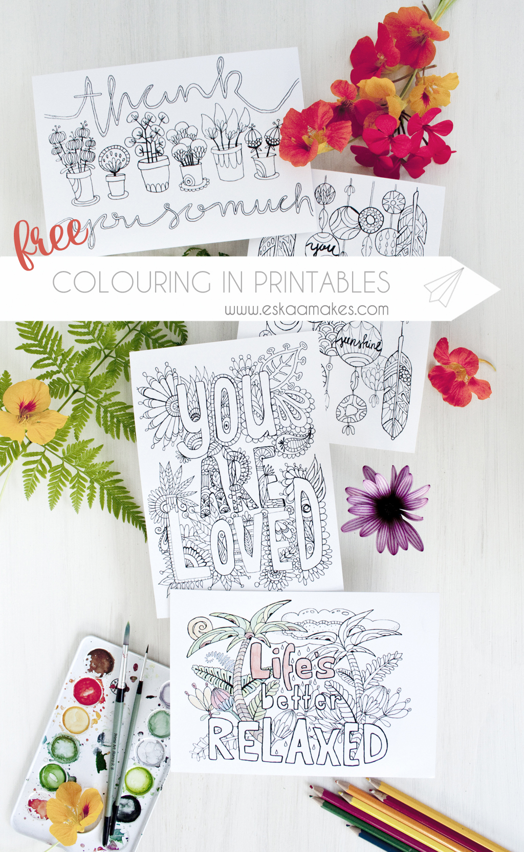Free printables colouring in greeting cards eskaa makes printable colouring cards title kristyandbryce Choice Image