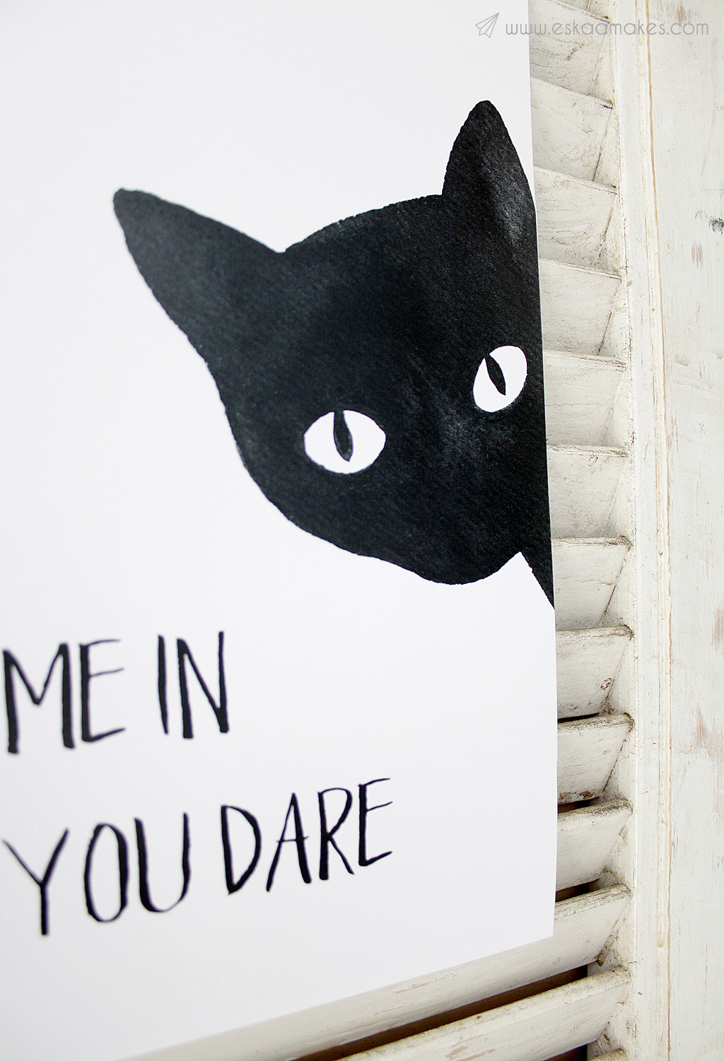 free printables black cat for halloween 187 eskaa makes