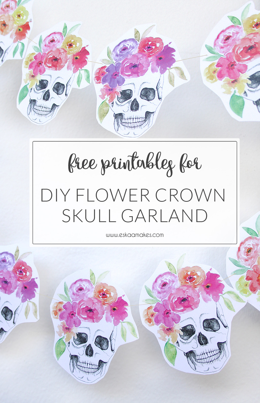 diy-flower-crown-skull-garland-title