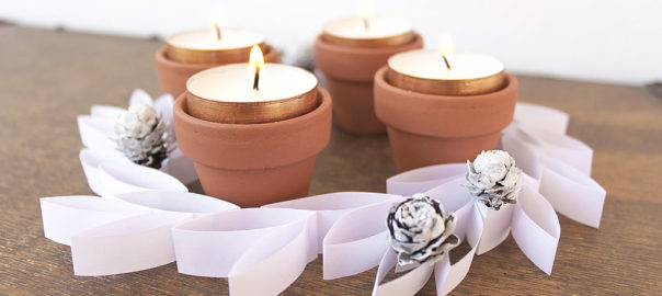 diy paper advent wreath