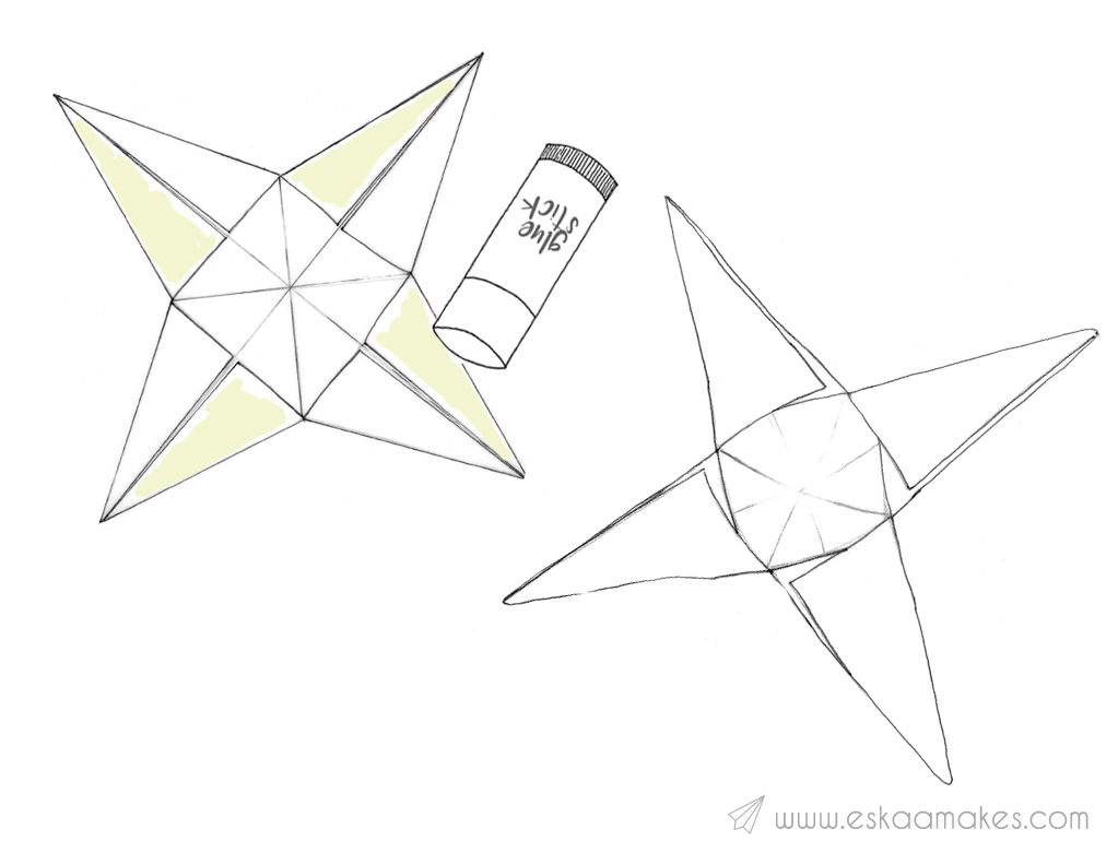diy-paper-star-step-5