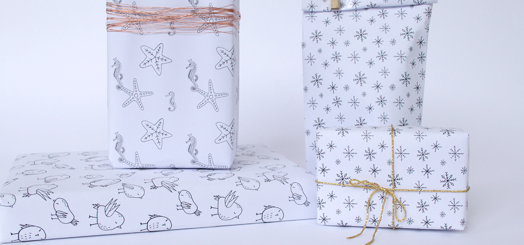 image about Free Printable Wrapping Paper known as Cost-free Printables: hand-drawn present wrap » [es.kaa.] results in