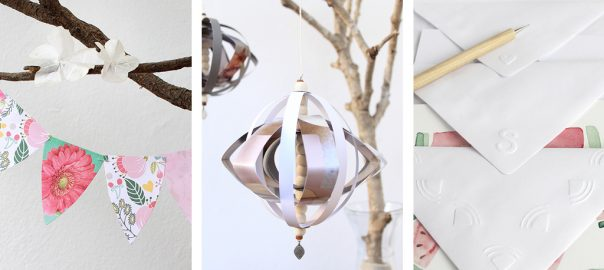 DIY paper crafts